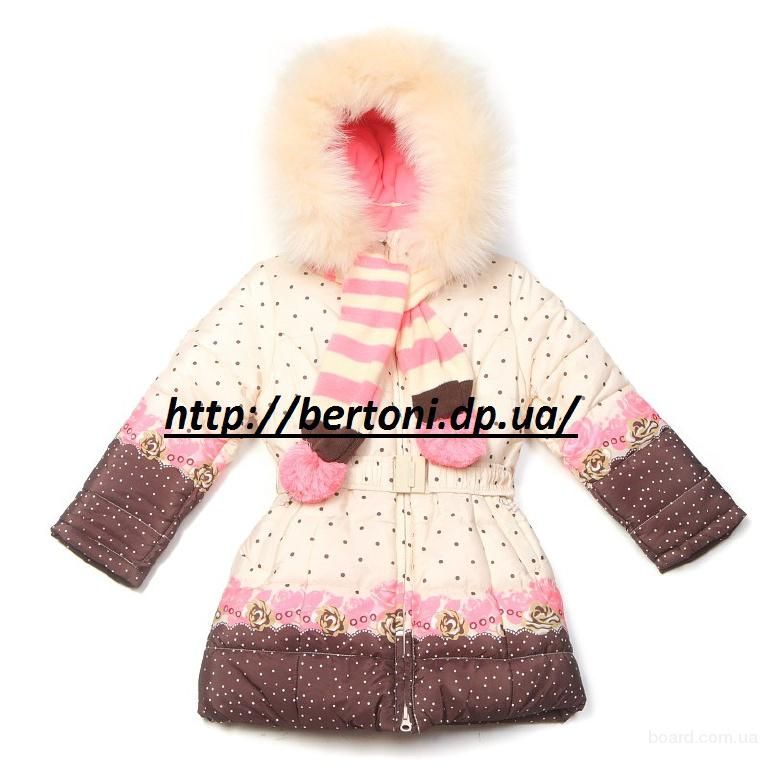 Пальто для девочек Kiko 3348