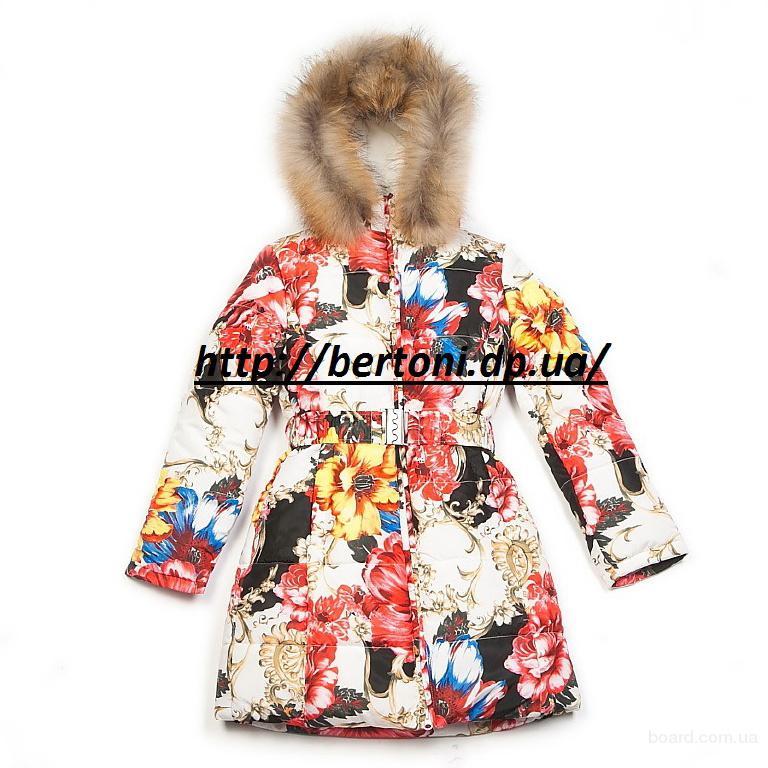 Пальто для девочки Kiko 3364