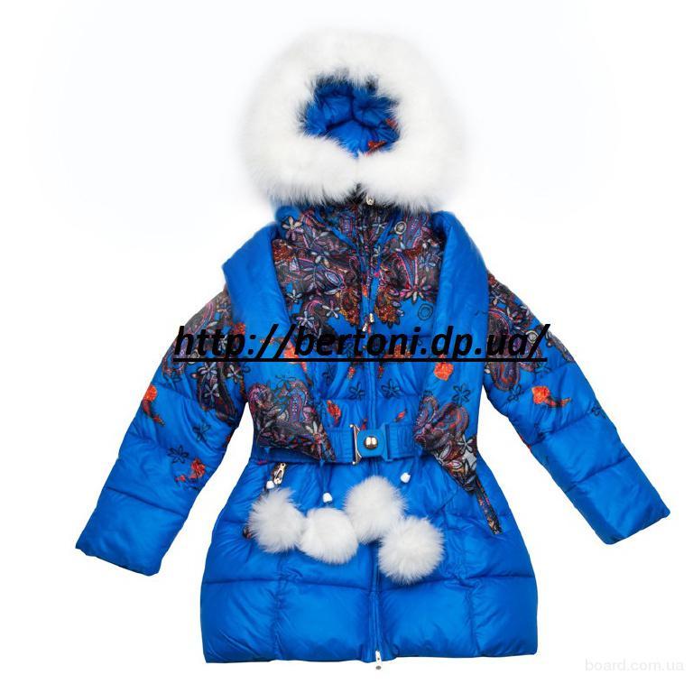 Пальто для девочки Kiko 3312М