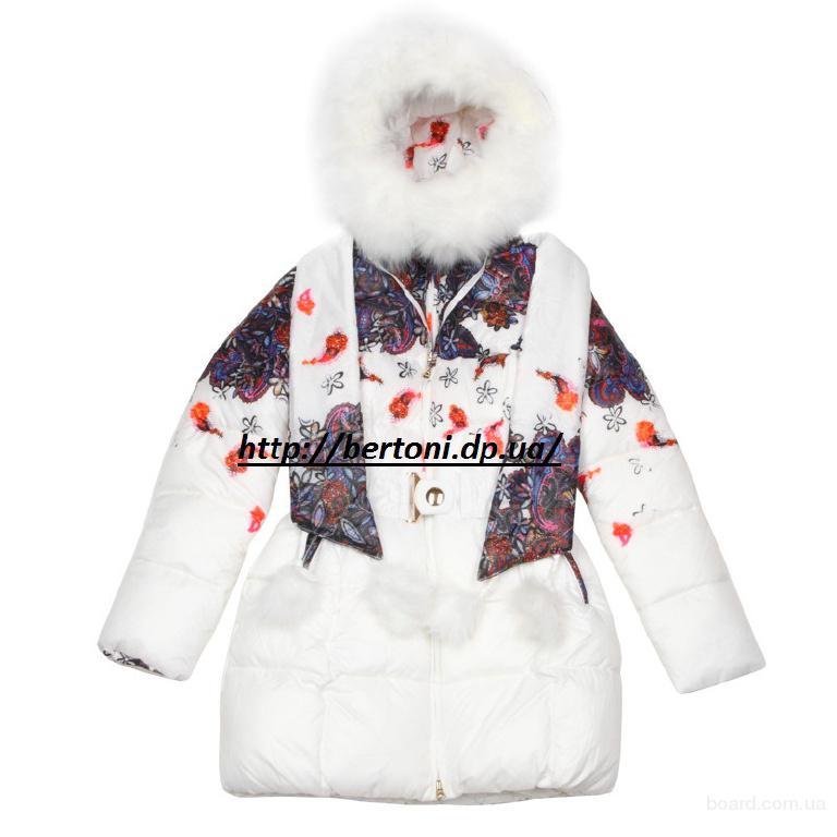 Пальто для девочки Kiko 3312Б