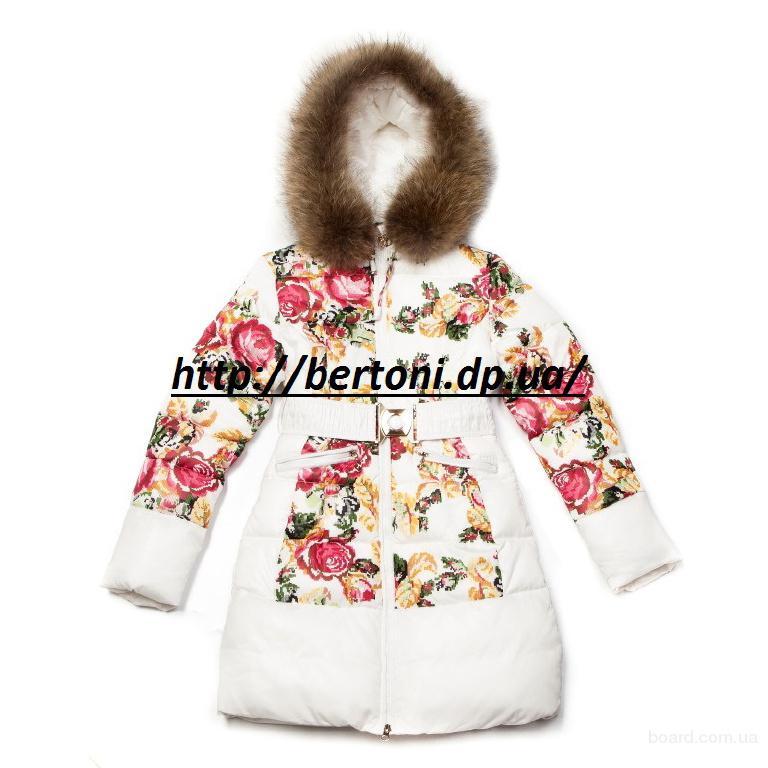 Пальто для девочки Kiko 3356