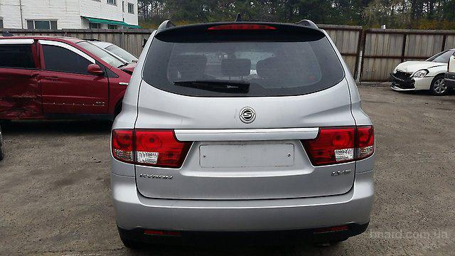 Ssangyong kyron бу запчасти