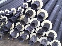 Труба сталева в ПЕ оболонці 32/90