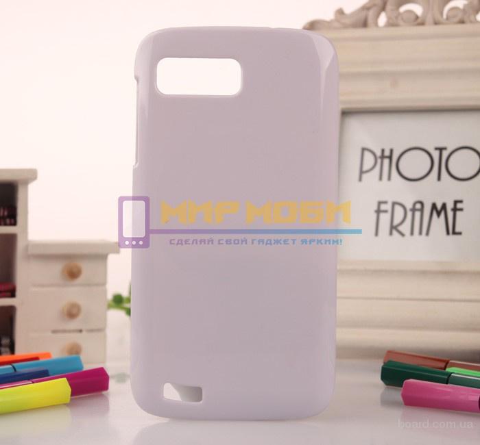 Чехол-бампер крышка пластик Acer Liquid Gallant Duo E350 Белый