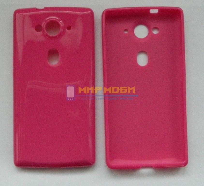 Чехол силиконовый TPU Acer Liquid E3 E380 Розовый