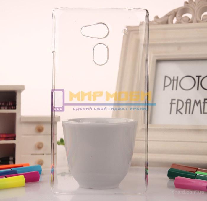 Чехол-бампер крышка пластик Acer Liquid Z5 Z150 Прозрачный