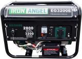 Генератор бензиновый с электростартом Iron Angel EG 3200 E + 1л масла 10W30