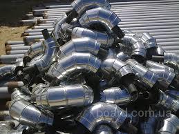 Коліно сталеве в ПЕ оболонці 426/560