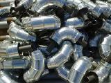 Коліно сталеве в ПЕ оболонці 219/315
