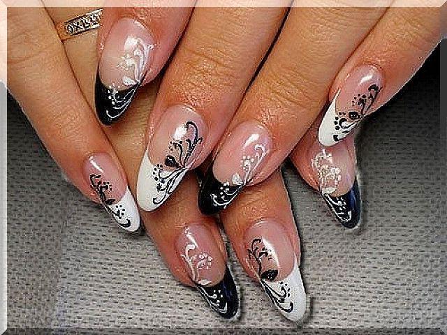 Дизайн круглых ногтей фото
