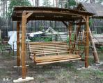 Качеля деревянная / К-4