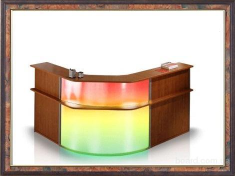 Стойки ресепшн (reception) и промо-столы, промостойки