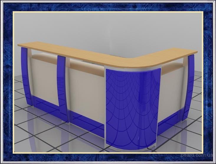 Стойки ресепшн в приемную, reception для администратора, промо-столы, промостойки