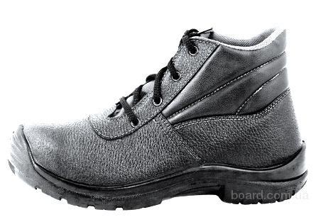 Ботинки кожаные Стандарт с мягкой вставкой