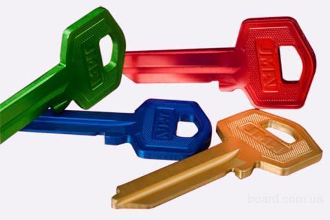 Заготовки для ключів.