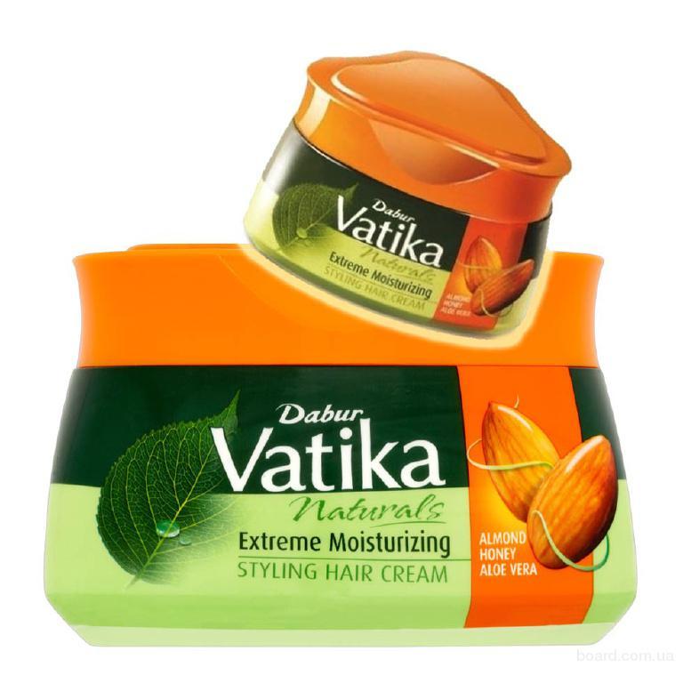 Крем для волос Dabur Vatika Extreme Moisturizing (интенсивное увлажнение), 140 мл
