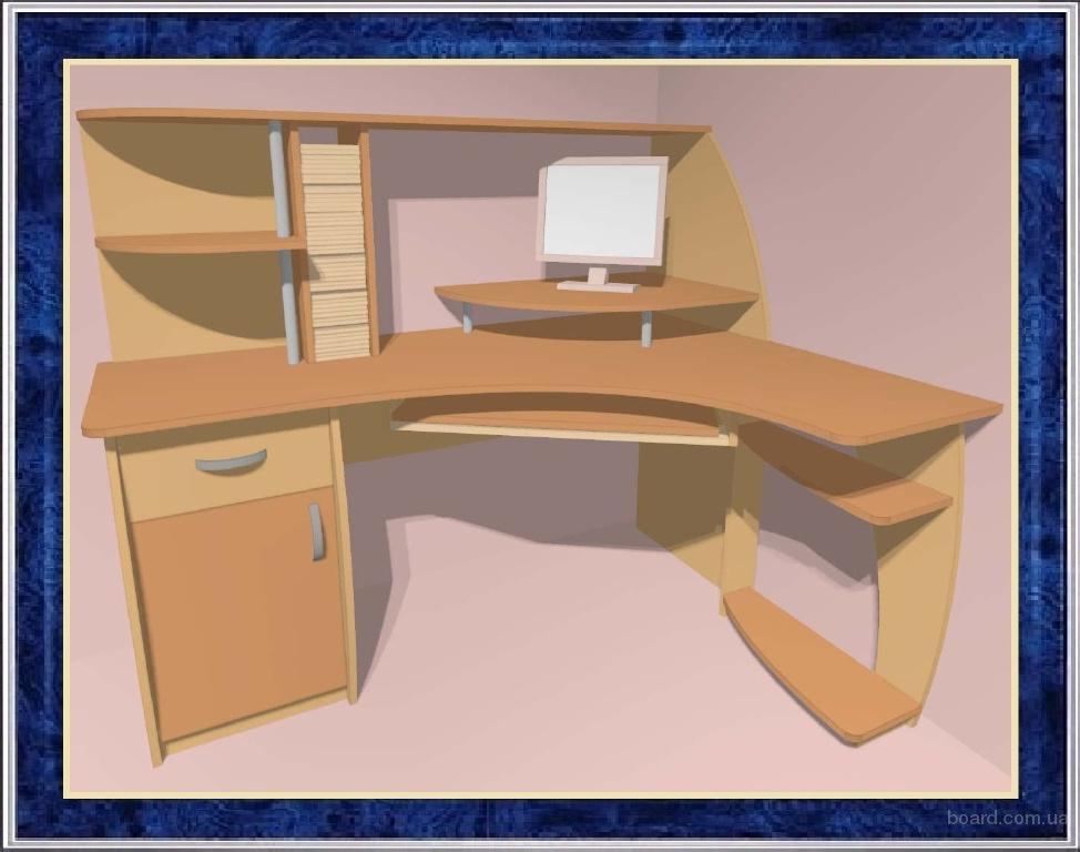 Компьютерные столы, офисные и письменные столы, столики для ноутбука, навесные компьютерные столики