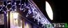 Световые гирлянды,гирлянда бахрома,световое оформление фасада