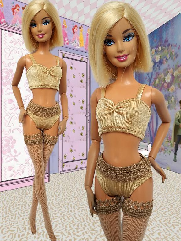 Купальники и нижнее белье для кукол Барби