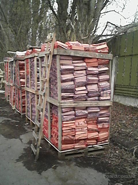 дрова дубовые, 25см,  сухие