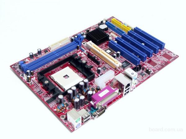 """Материнка  Biostar """"nf325-A7"""" nvidia nForce3 250 Socket754"""