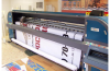 Широкоформатная печать на банере