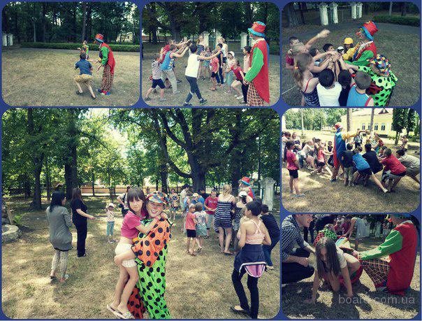 Организовать детский праздник. Аниматор Клоуны,Пираты, Фокусник, Кукольный театр.Киев и Киевской области.