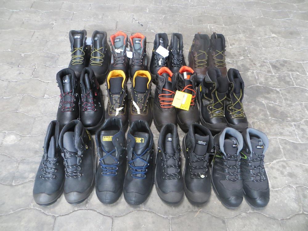 Обувь из Европы. Gri Spоrt Аrbeit Mix. Кожаная, рабочая обувь. 12 пар. Размеры: 44-48.