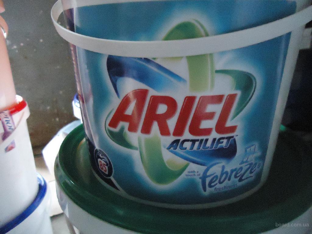 Стиральный порошок Ariel Actilift with touch of Febreze. 5 кг. 85 стирок. Цена - 155 грн.