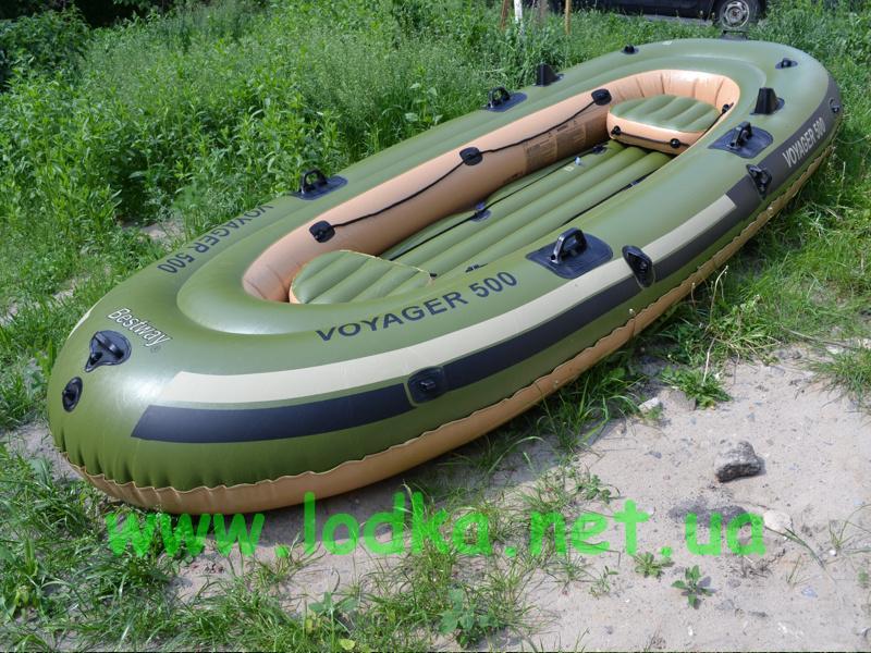 лодка пвх вояджер 500