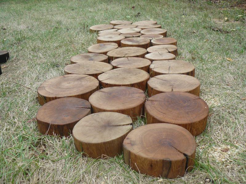 Брусчатка деревянная