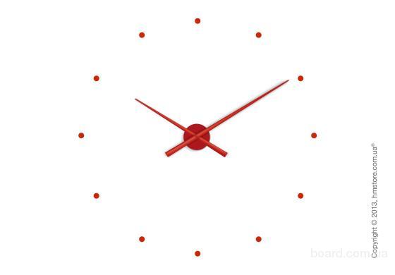 Уникальные настенные часы Nomon Oj Wall Clock, Red купить по выгодной цене