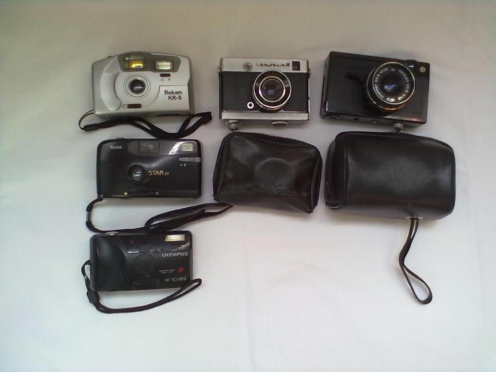 фотоапараты времен СССР