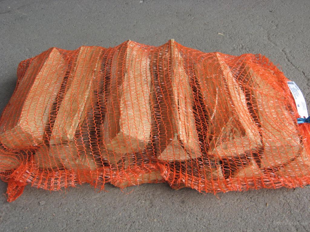 дрова колотые дуб, 25см