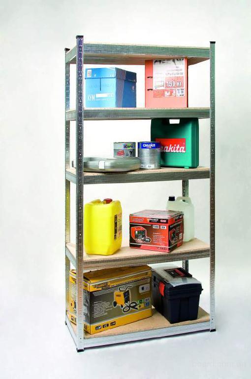 Стальные полочные стеллажи для хранения товаров