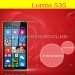 Защитное стекло на Microsoft Lumia 535 (Nokia)