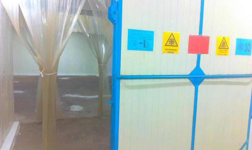 морозильные камеры на холодильном складе