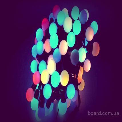 Купить светодиодные гирлянды шарики,новогодние сувениры