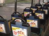 Размещение рекламы на подголовниках в автобусах Симферополя