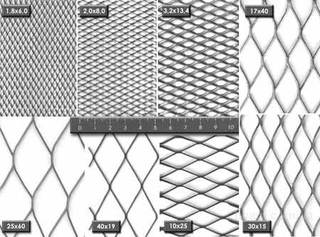 Сетка просечно-вытяжная 10х25х1,5х0,6 хк
