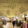 Гирлянды - светящиеся мотивы ,зеленая хвоя,лампы накаливания Распродажа