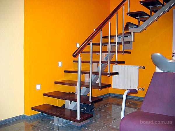 Изготовление металлических лестниц в Киеве