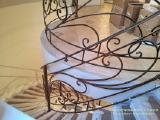 Художественная ковка. Кованые перила для лестниц.