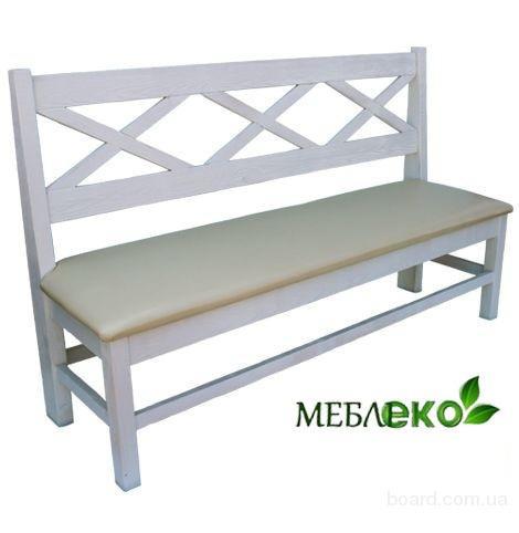 Мебель для кухни из натурального дерева, Лавка Кухонная Хит