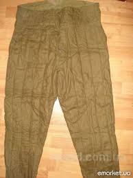 ватные штаны, фуфайки, телогрейки, куртки стеганные. Синие, черные, зеленые. складского хранения СССР.  Украина.