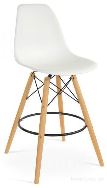 Высокий барный стул AC-016WH белый
