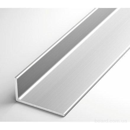Уголок алюминиевый 40х20х2 марка АD31 цена гост