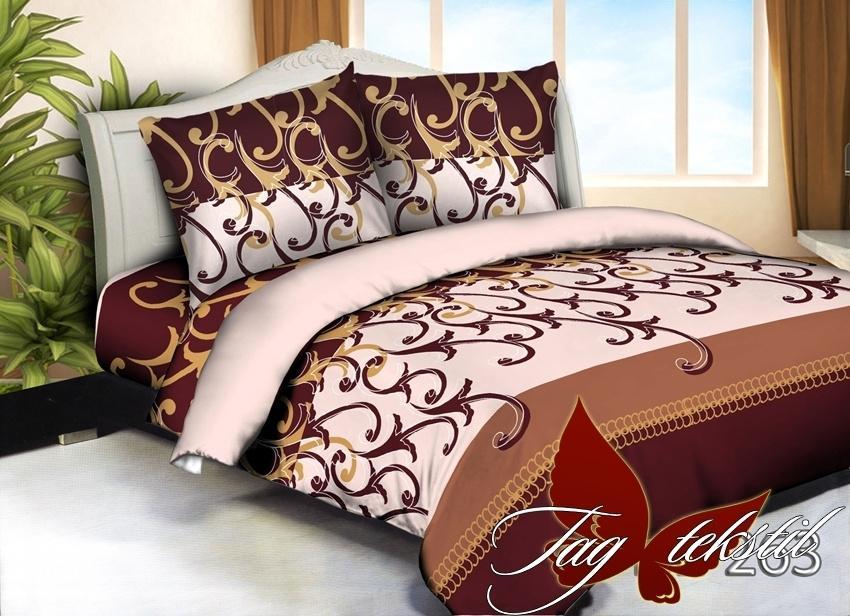 Купить постельное 3Д недорого, Микросатин HL263