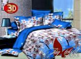 Купить дешево постельное белье 3д, Микросатин HL053