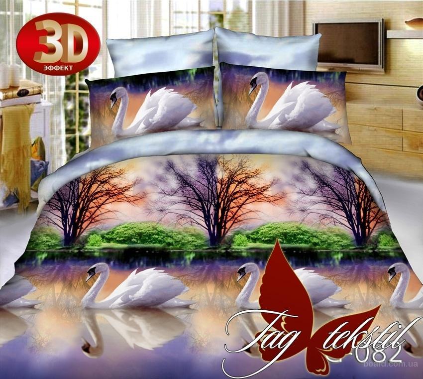 Дешевые постельные комплекты, Микросатин TG082